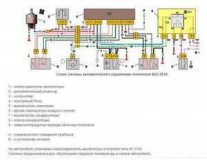 Схема контроллера отопителя приоры