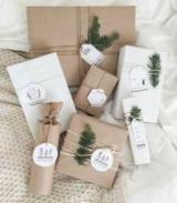 Як обертати подарунки папером і стрічкою?