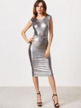 Як і з чим носити сріблясте плаття fcc63ff752672